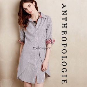 Anthropologie Tilda Tulip Shirtdress